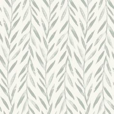 Magnolia Home Willow Sure Strip Wallpaper Double Roll - Double Roll / Grey