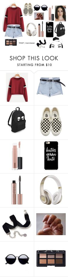 """""""I'm a COOL girl"""" by julia-dccxc on Polyvore featuring Vans, MAC Cosmetics, Caso, Beats by Dr. Dre, Sweet Romance and NARS Cosmetics"""