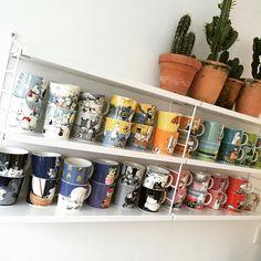 MOOMIN LOVE❤️ #moomin #mugs Moomin Mugs, Edinburgh, Coffee Mugs, Planter Pots, Future, Tableware, Board, Kitchen, Home