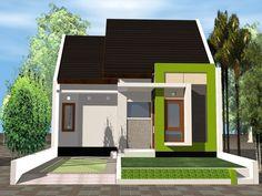 Contoh desain rumah minimalis dan tips memilih warna cat