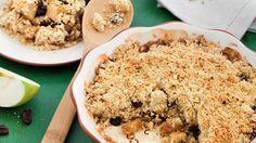 Яблочный крамбл с изюмом. Пошаговый рецепт с фото, удобный поиск рецептов на Gastronom.ru