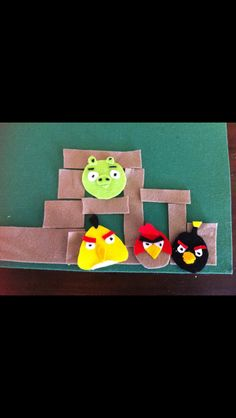 Red Angry Bird, Angry Birds, Busy Bags, Felt, Board, Tote Bags, Felting, Feltro, Planks
