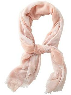 blush scarf / spun by subtle luxury