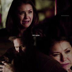 #TVD The Vampire Diaries  Elena & Alaric, awww.. ;-;