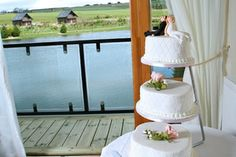 Wedding at Forbes of Kingennie, stunning view in the background.