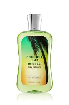 Bath and Body Works Coconut Lime Verbana Body wash
