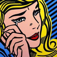 Roy Lichtenstein « Crying Girl » Limited Edition Giclée Print