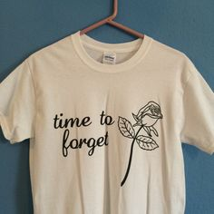 time to forget tshirt by strawberrymilkvtg on Etsy