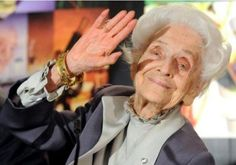 Rita Levi-Montalcini (1909—) is a Jewish Italian neuroscientist and Nobel Prize laureate, born in Turin on 22ndApril, 1909.  Today, at 103 years old, she is still active in the field of neurobiology and works at the European Brain Research Institute in Rome, as well as running the science education centre for African women she founded in 1992, and is an active senator of the Italian parliament.