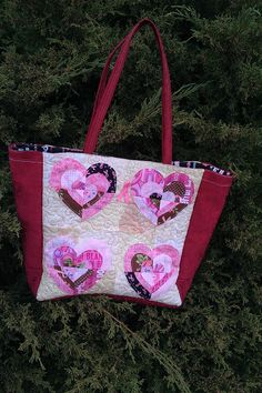 breast cancer quilts   Thread: breast cancer heart tote