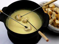 Fondue de três queijos