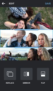 Layout from Instagram: miniatura de captura de pantalla