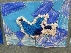 יצירה- צביעה וקימוטי נייר קרפ Sunday School Crafts, Independence Day, Art For Kids, Projects To Try, Israel, Holiday, Crafting, Diy, Animals