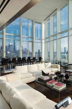 20 NYC Dream Apartments - Captain Decor dream house luxury home house rooms bedroom furniture home bathroom home modern homes interior penthouse New York Penthouse, Luxury Penthouse, Penthouse Apartment, Dream Apartment, Luxury Apartments, Apartment Living, Luxury Homes, New York Apartment Luxury, Luxury Condo