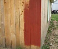 Flour Paint: Long-Lasting, Non-toxic, and Dirt Cheap Homemade Exterior Paint! - http://www.homesteadingfreedom.com/flour-paint-long-lasting-non-toxic-and-dirt-cheap-homemade-exterior-paint/