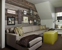Wood Accent Walls Ideas | Wall Color Trends: Unusual Accent Walls (Hint: It's Not Just About ...
