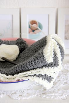 Baby blanket by request by IDA Interior LifeStyle, via Flickr