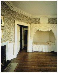 Bedroom, Monticello, Virginia.