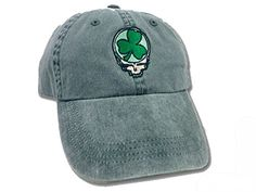 Grateful Dead Steal Your Face Shamrock Embroidered Hat   Want additional  info  Click on the d8e072e41f44