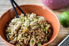 Rice and Tuna Stir Fry by Greek chef Akis Petretzikis. Cantaloupe Recipes, Radish Recipes, Raw Food Recipes, Frangipane Recipes, Spagetti Recipe, Szechuan Recipes, Gnocchi Recipes