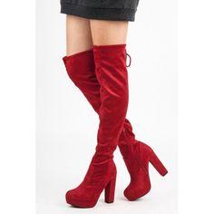 Dámské kozačky Yes Mile Those červené – červená Výrobce  YES MILE Barva   odstíny červené Typ paty  podpatek Typ špičky  plná Typ spony  zip ae5eba9992