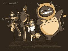 studio ghibli, off to see the wizard!