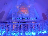An entire hotel made of ice!