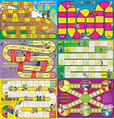 Social Skills - 6 Board Games