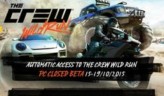 The Crew expansion Wild Run will be releasing on PS4, Xbox One and PC come November 17th, however PC players will be able to get a early taste of the action through a closed beta that's being run from October 15th to 19th.