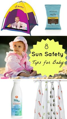 8 Sun Safety Tips for Baby
