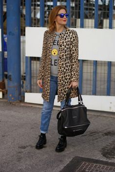 25 Fierce Ways to Style a Leopard Coat | StyleCaster