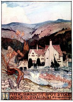 Art by Maxwell Armfield (1895) from FAERY TALES FROM HANS ANDERSEN.