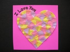 just did this with the boys for our Valentine's Day craft! It was lots of fun!
