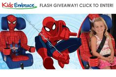 nice Official Spiderman Toddler Baby Car Seat & Booster by KidsEmbrace  amazing shoes