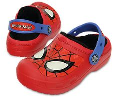 Jack Size 10/11 Crocs-Kids' CC Spiderman Lined Clog | Kids' Comfortable Clogs | Crocs Official Site