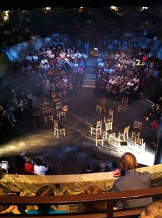 The Old Vic The Crucible Stage