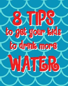How to get kids to drink more water. sclifeasawife.blogspot.com