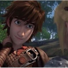 Hiccup is so cute! :) #Hiccstrid ^.^ ♡