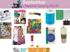 September is National Sewing Month