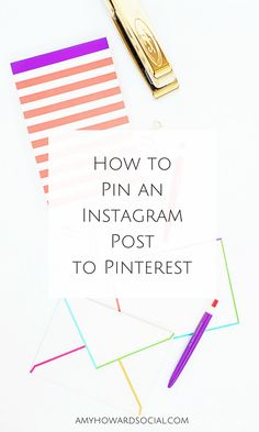 Pinning an Instagram post isn't super straight-forward. With these quick tips, you will see just how easy it is to pin an Instagram post to Pinterest.