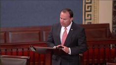 On floor of U.S. Senate, Sen. Mike Lee honors President Boyd K. Packer as 'man of principles'