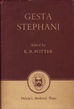 Gesta Stephani the Deeds of Stephen by Potter K.R.,http://www.amazon.com/dp/B000SD72TQ/ref=cm_sw_r_pi_dp_9IJzsb0ZE8YQRWTW