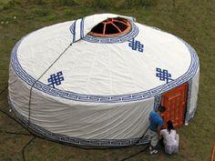 A yurt.