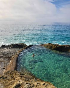 Tide Pools In California Include This Amazing Ocean Pool To Swim In - Narcity California Places To Visit, California Coast, Ocean Beach California, Northern California Travel, California California, Vacation Places, Dream Vacations, Vacation Spots, Beautiful Places To Travel