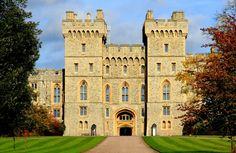 Castillo Windsor – Inglaterra! Esta residencia real del siglo XI es el palacio más largamente ocupado en Europa.