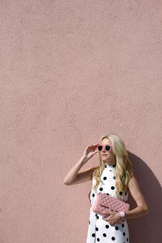 pink // polka dot |