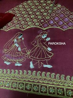 Pakistani Bridal Dresses, Indian Embroidery, Necklace Online, Work Blouse, Hand Designs, Embroidered Blouse, Saree Blouse, Wedding Designs, Blouse Designs