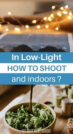 In this article, I present you everything you need to know to shoot great pictures in low light. It is often a time of day that we like (sunrise or sunset) or indoor photography. However, technically, it is not always so simple to shoot during these times. Here are all our best tips. Indoor Photography Tips, Wedding Photography Tips, Photography Basics, Photography Tips For Beginners, Photography Courses, Photography Editing, Photography Tutorials, Light Photography, Learn Photography