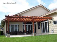 Cuando la estructura es una extensión de la casa puede cumplir otras funciones