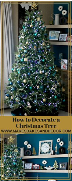 how to decorate a christmas tree here is my step by step guide on how I decorate my Christmas Tree #christmas #ChristmasTree #christmasdecor #christmasdecoration